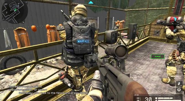 تحميل لعبة warface للكمبيوتر